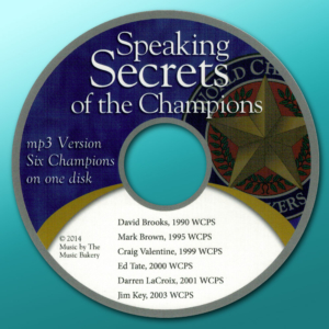 Speaking Secrets of the Champions
